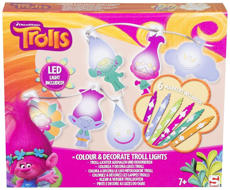 DreamWorks: Trolls - Troll-Lichter Ausmalen und Dekorieren - Kinder ...