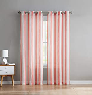 88f1f629756d Amazon.com: VCNY Home Jeanette Window Treatment Curtains 76x95 ...