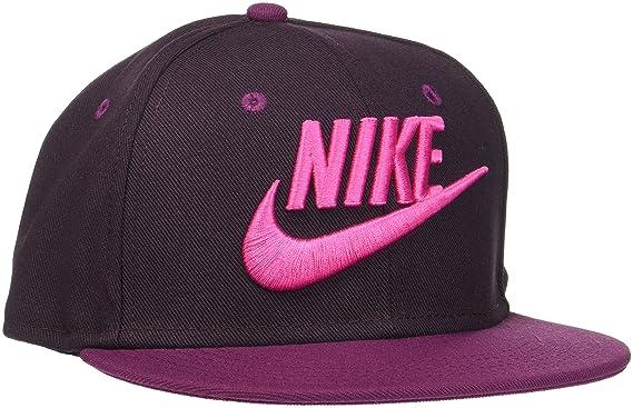 Nike Y NK True Cap Futura Gorro, Niños, oporto/Negro, Misc: Amazon ...
