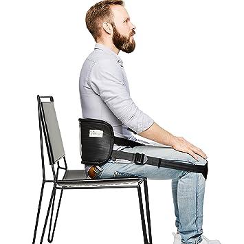 Sit Right Rückengurt Für Gesundes Sitzen   Geradehalter U0026 Haltungstrainer  Für Eine Aufrechte Körperhaltung   Rückentrainer