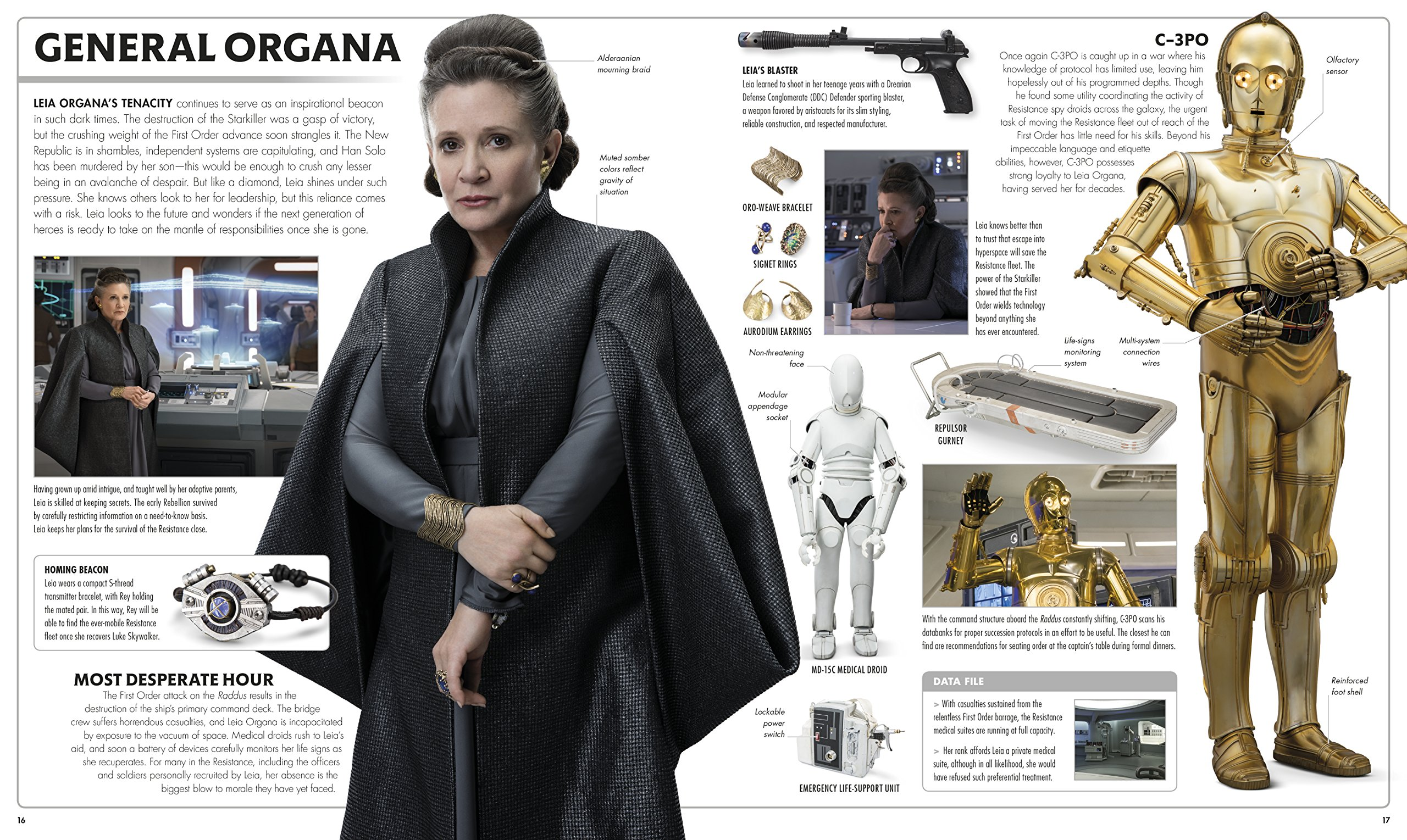 Star Wars The Last Jedi  The Visual Dictionary by DK Publishing (Image #4)