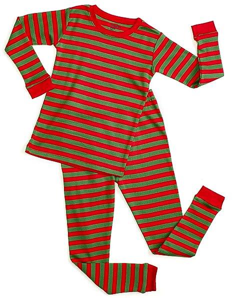 Amazon.com: dinodee los niños las niñas 2 Piece Pajama ...
