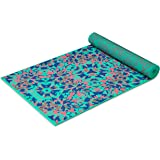 Gaiam Yoga Mat Premium Print Reversible Extra Thick Non Slip Exercise & Fitness Mat for All Types of Yoga, Pilates…