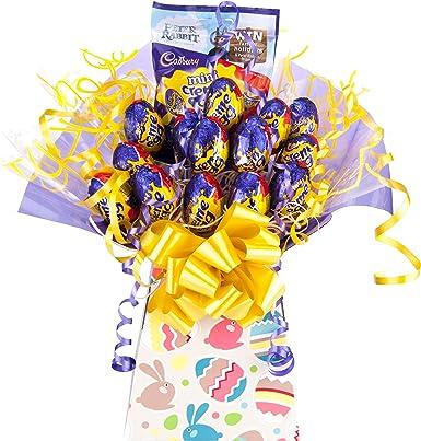 Cadbury creme egg chocolate bouquet sweet hamper tree explosion cadbury creme egg chocolate bouquet sweet hamper tree explosion selection perfect easter gift negle Choice Image