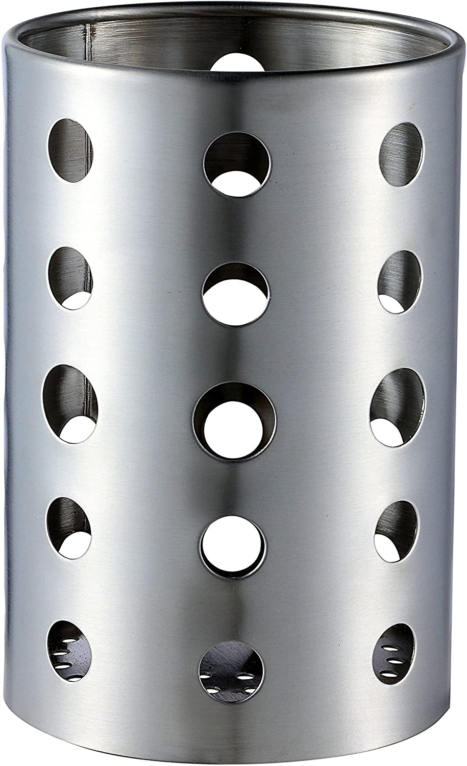 Pro Chef Kitchen Tools Stainless Steel Utensil Organizer Caddy - Organize Your Silverware, Cutlery, Cooking Utensils and Gadgets With a Large Commercial Restaurant Quality Flatware Caddy Holder