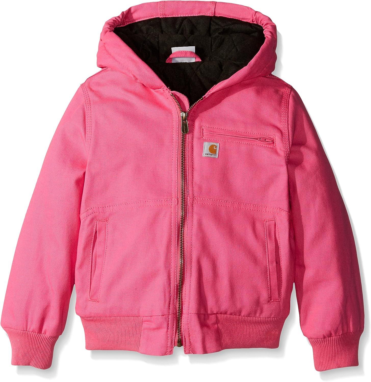 Carhartt Big Girls' Wildwood Jacket Quilt: Clothing