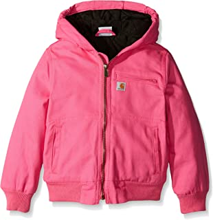 Amazon.com: Carhartt Girls Redwood Jacket Sherpa Lined ...