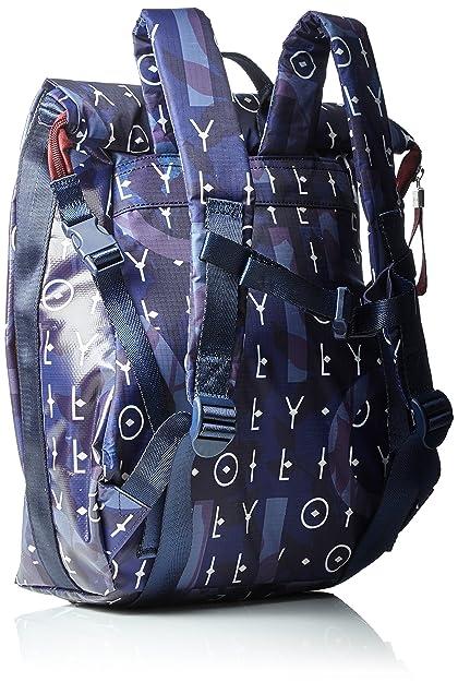 Oilily - Lori Backpack Mvf, Mochilas Mujer, Blau (Dark Blue), 13x36x22 cm (B x H T): Amazon.es: Zapatos y complementos