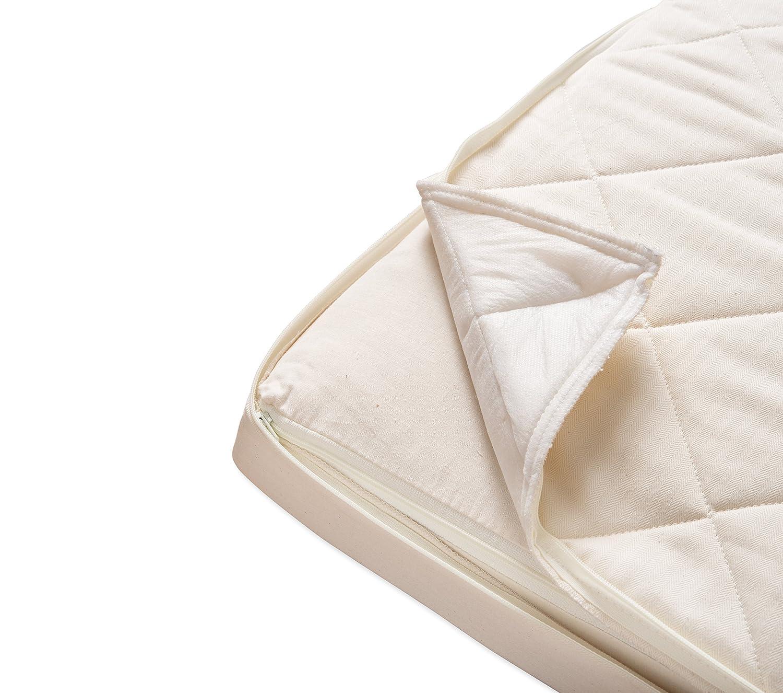 Natural Mat Coco Mat acolchado colchón para cuna (70 x 140 cm): Amazon.es: Bebé