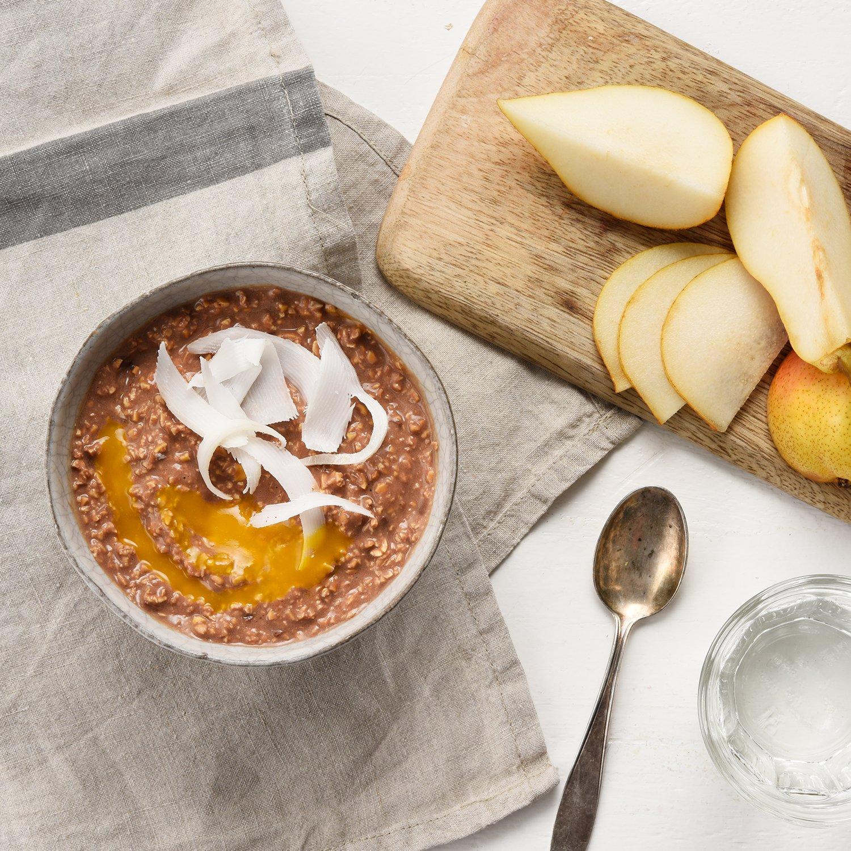 foodspring Porridge proteico, Orgánica Chocolate, 420g, Desayuno para estar en forma: Amazon.es: Alimentación y bebidas