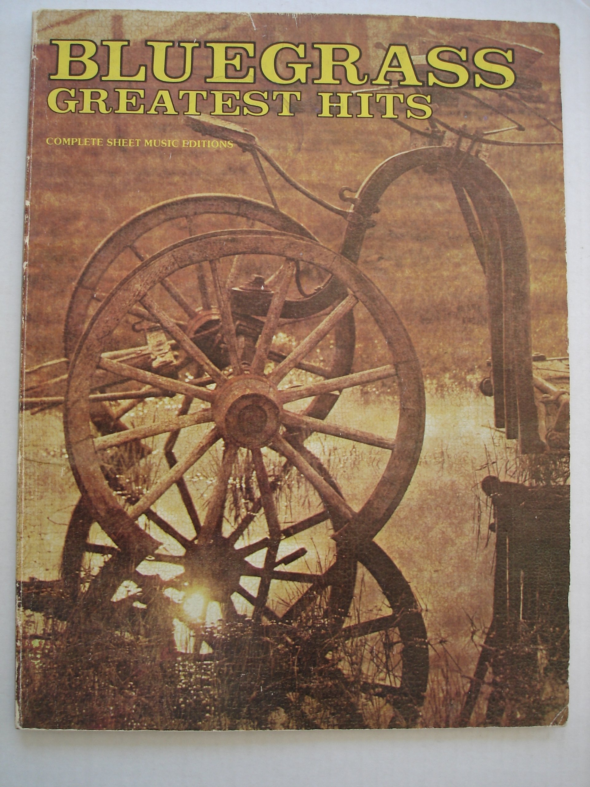 Bluegrass Greatest Hits, Complete Sheet Music Editions