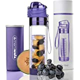 MAMI WATA Fruit Infuser Water Bottle – Beautiful Gift Box – Unique Stylish Design - Free Fruit Infused Water Recipes eBook an