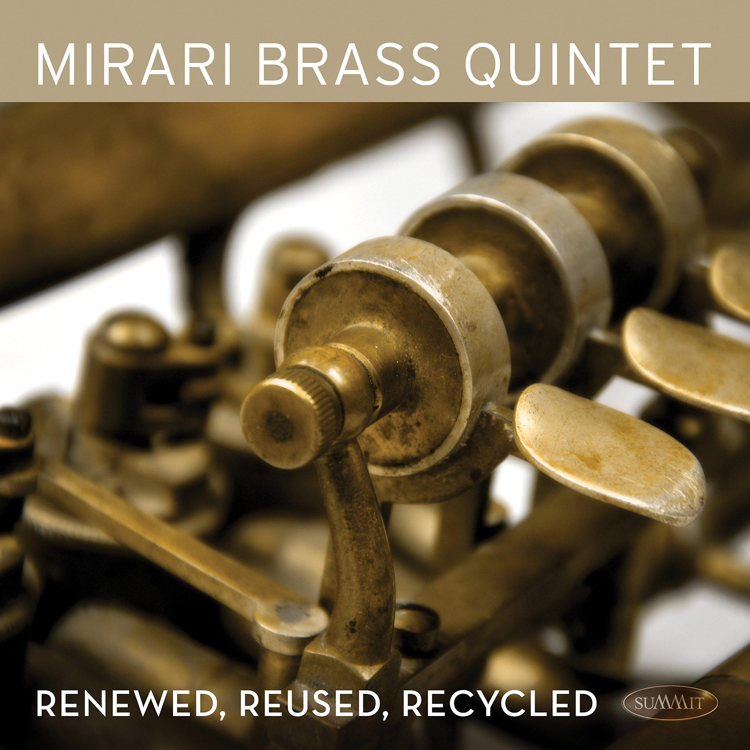 CD : Mirari Brass Quintet - Renewed Reused Recycled (CD)