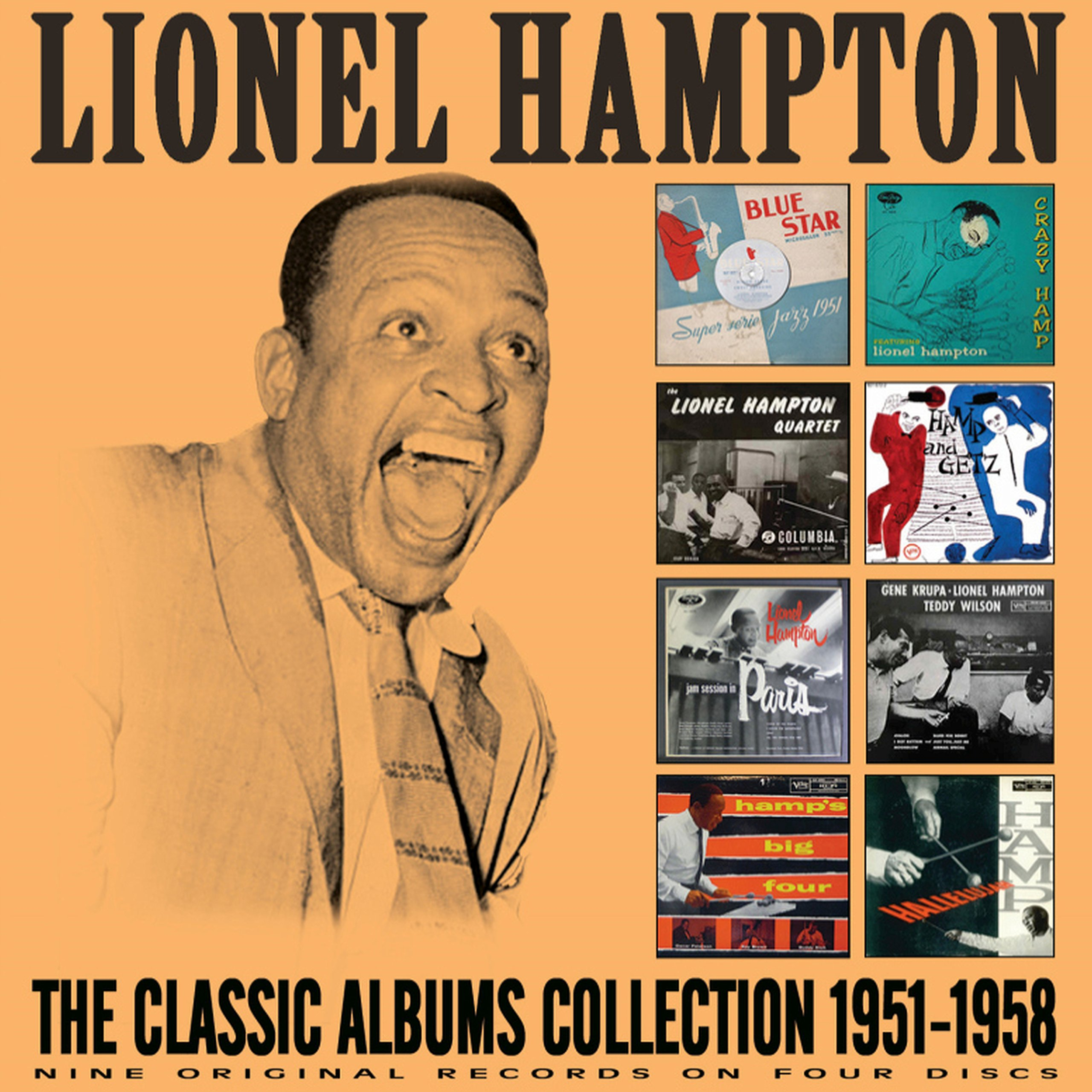 CD : Lionel Hampton - Complete Albums Collection: 1951-1958 (4PC)