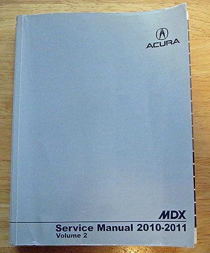 2010 ACURA MDX SERVICE MANUAL PDF