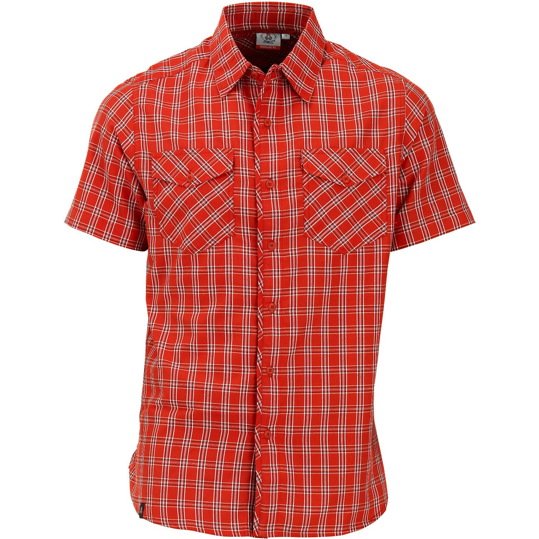 Maul de Deportes HE. HE. Deportes Tranby Camisa de Cuadros, Hombre, Color Fire Rojo, tamaño Large 1d78bc