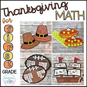 Amazon Com Thanksgiving Math Crafts For 1st Grade Double