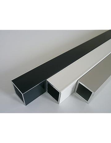 Riggatec Tube daluminium Carr/é 40x40x4mm Longueur 0,5 m