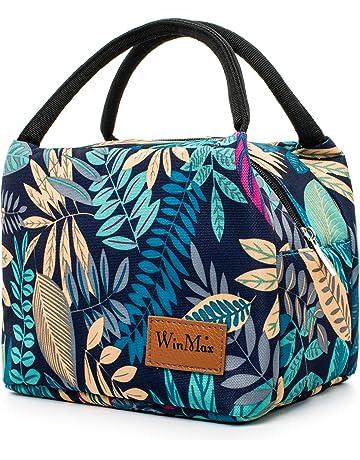 a1e7780f4a winmax Sac Isotherme Repas Femme Grande Capacité Sac à Déjeuner Sac  Transport Repas Lunch Bag pour