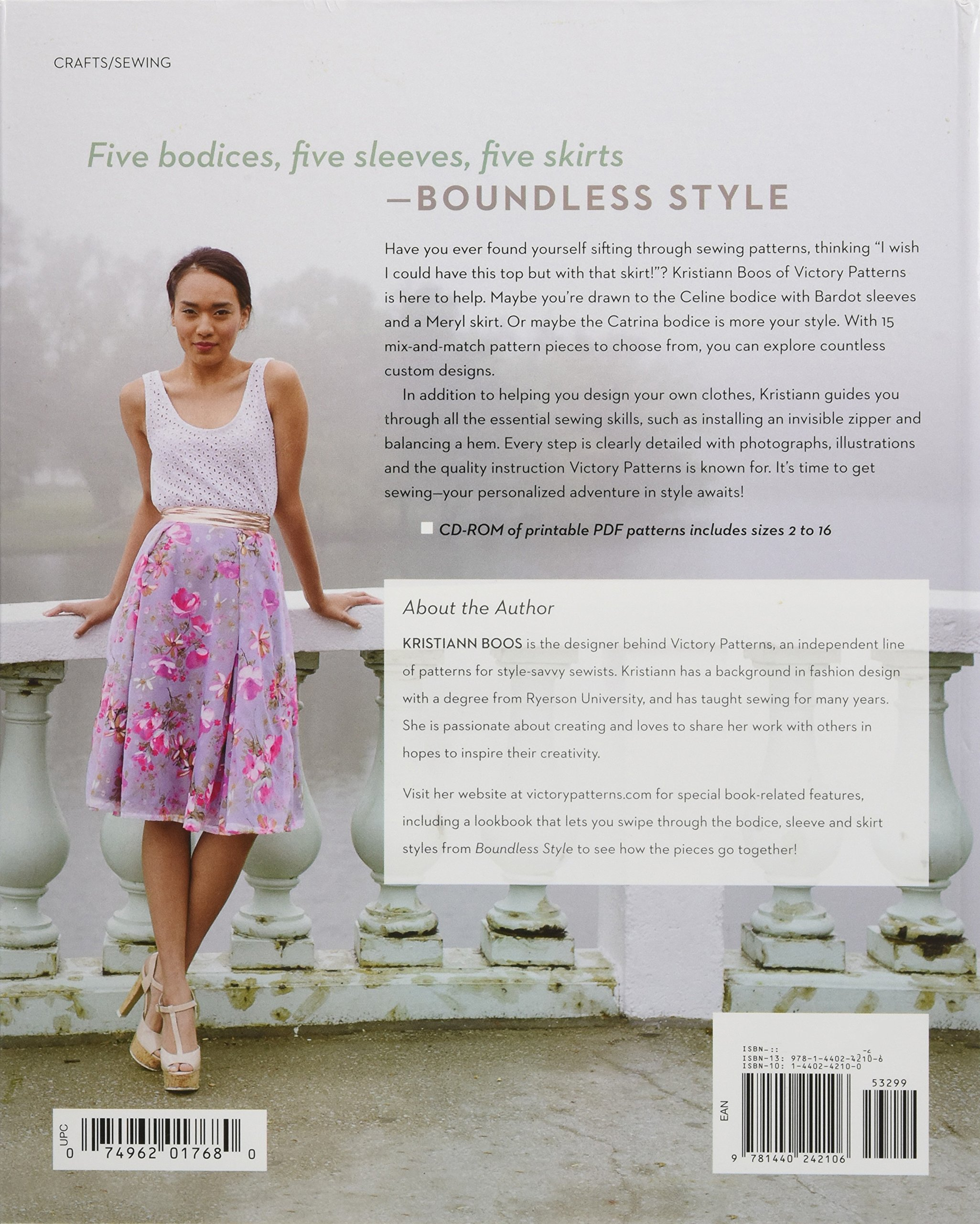 Boundless Style A Mix And Match Sewing Pattern Workbook Boos Kristiann 9781440242106 Amazon Com Books