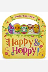 Happy & Hoppy - Children's Flip-a-Flap Activity Board Book for Easter Baskets and Springtime Fun, Ages 1-5 Board book