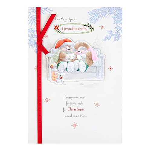 Grandparents Christmas Card: Amazon.co.uk