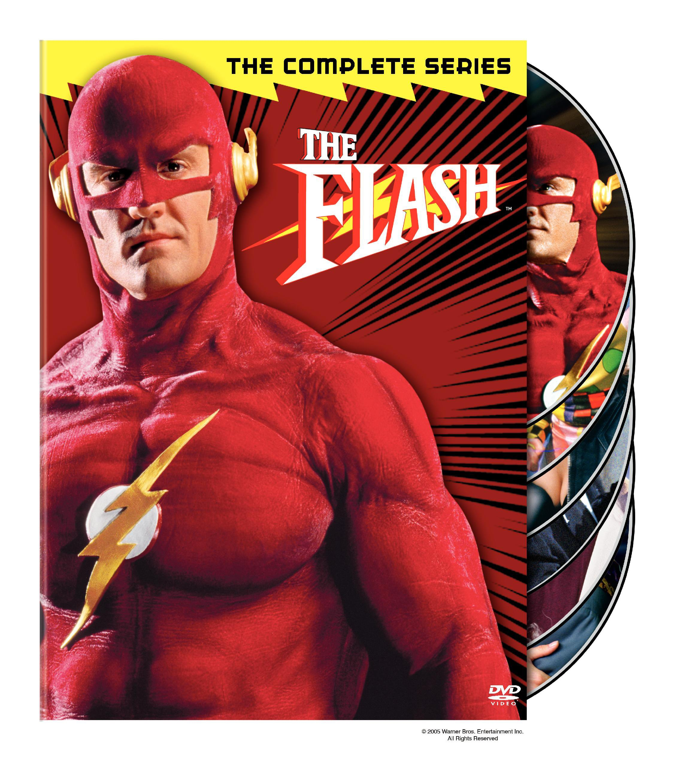 DVD : The Flash: The Complete Series (Full Frame, Repackaged, , 6 Disc)