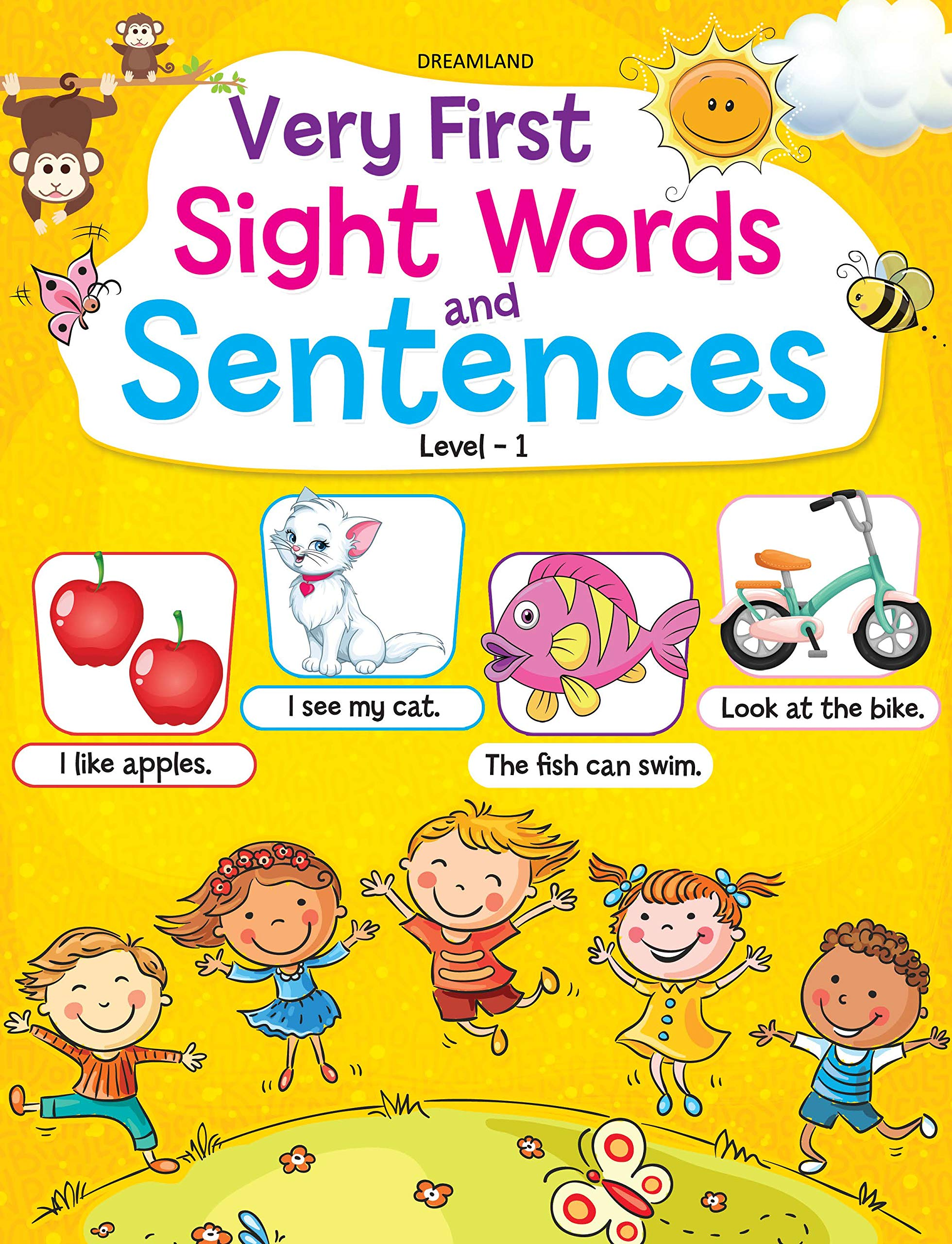 Very First Sight Words Sentences Level 1