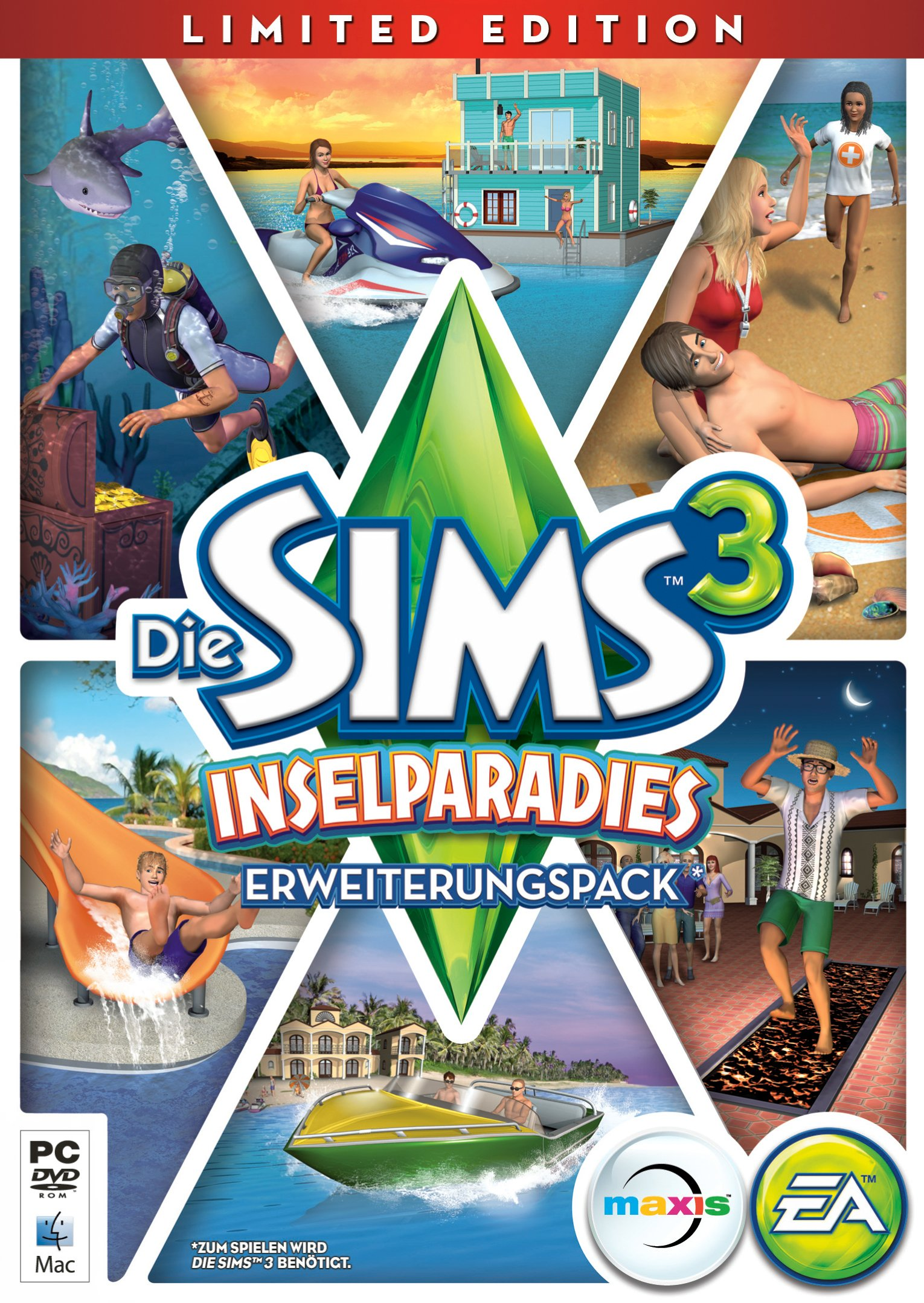Die Sims 3: Inselparadies - Limited Edition product image