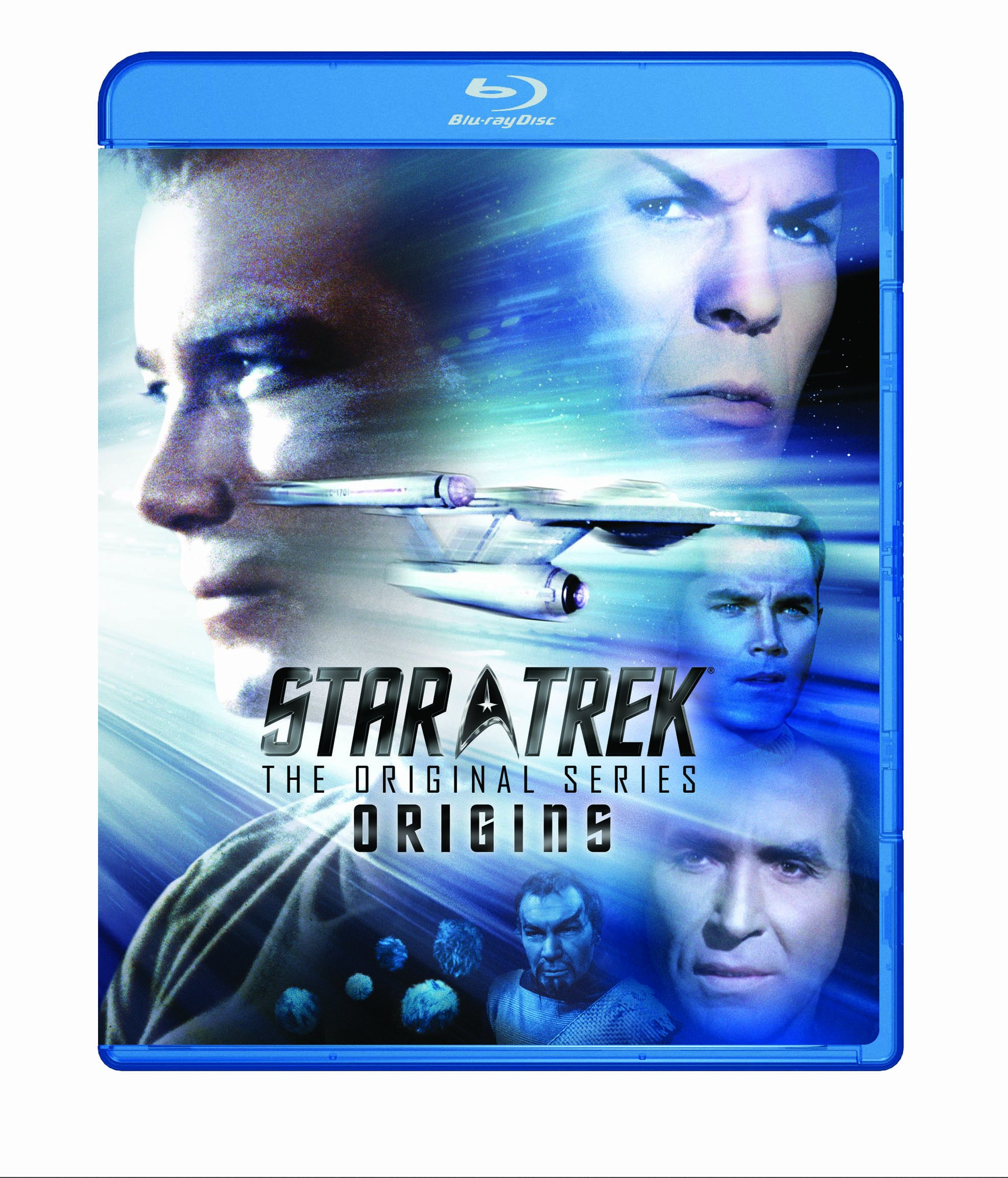 Blu-ray : Star Trek: The Original Series - Origins (Full Frame, Gift Set, Dubbed, , Sensormatic)