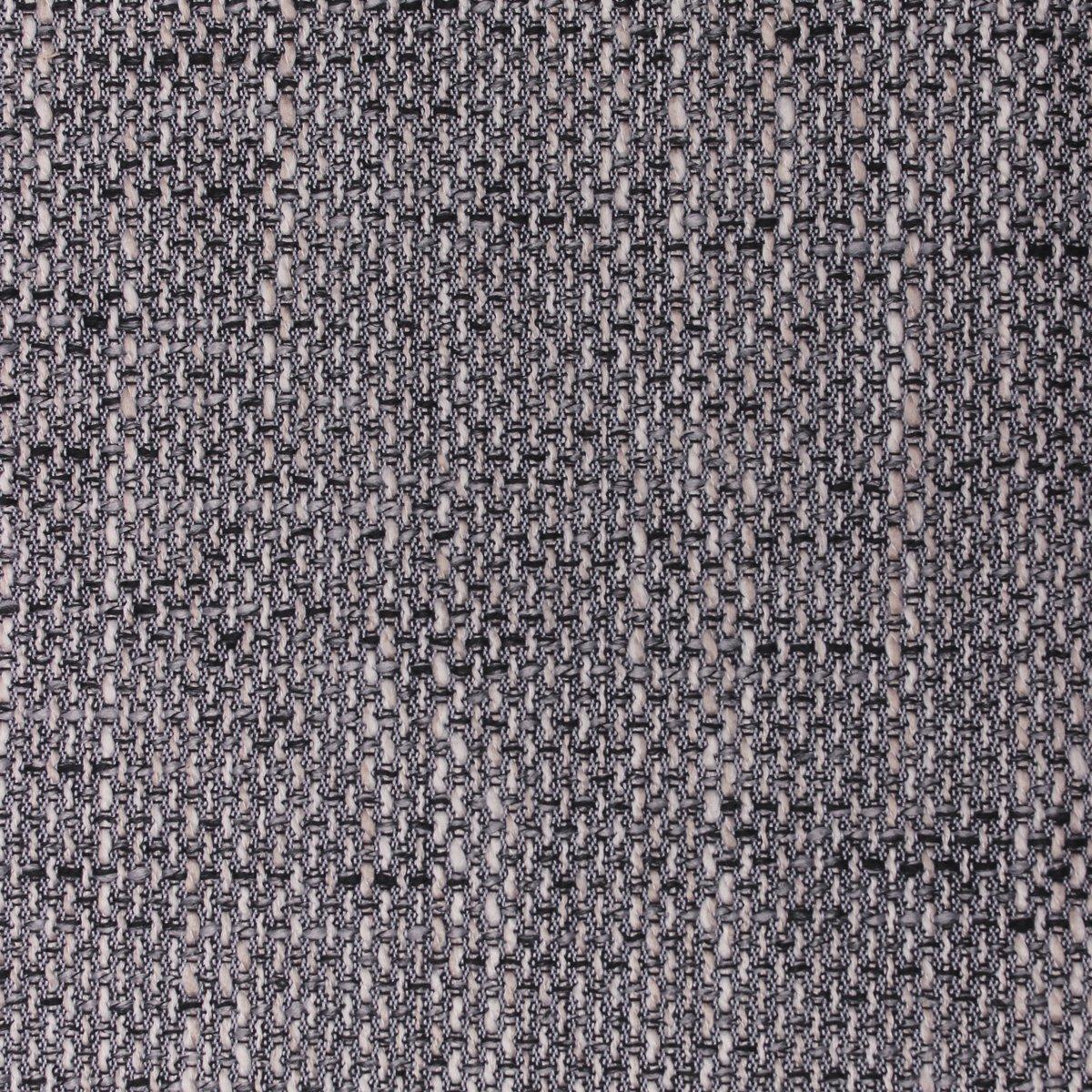 Möbelbär Kissen-Set Mia Magma Chenille Web-Stoff Polsterstoff grob gewebte Struktur Kissen-Hülle inkl. Feder-Füllung 50 cm x 50 cm   40 cm x 40 cm Dark Grau