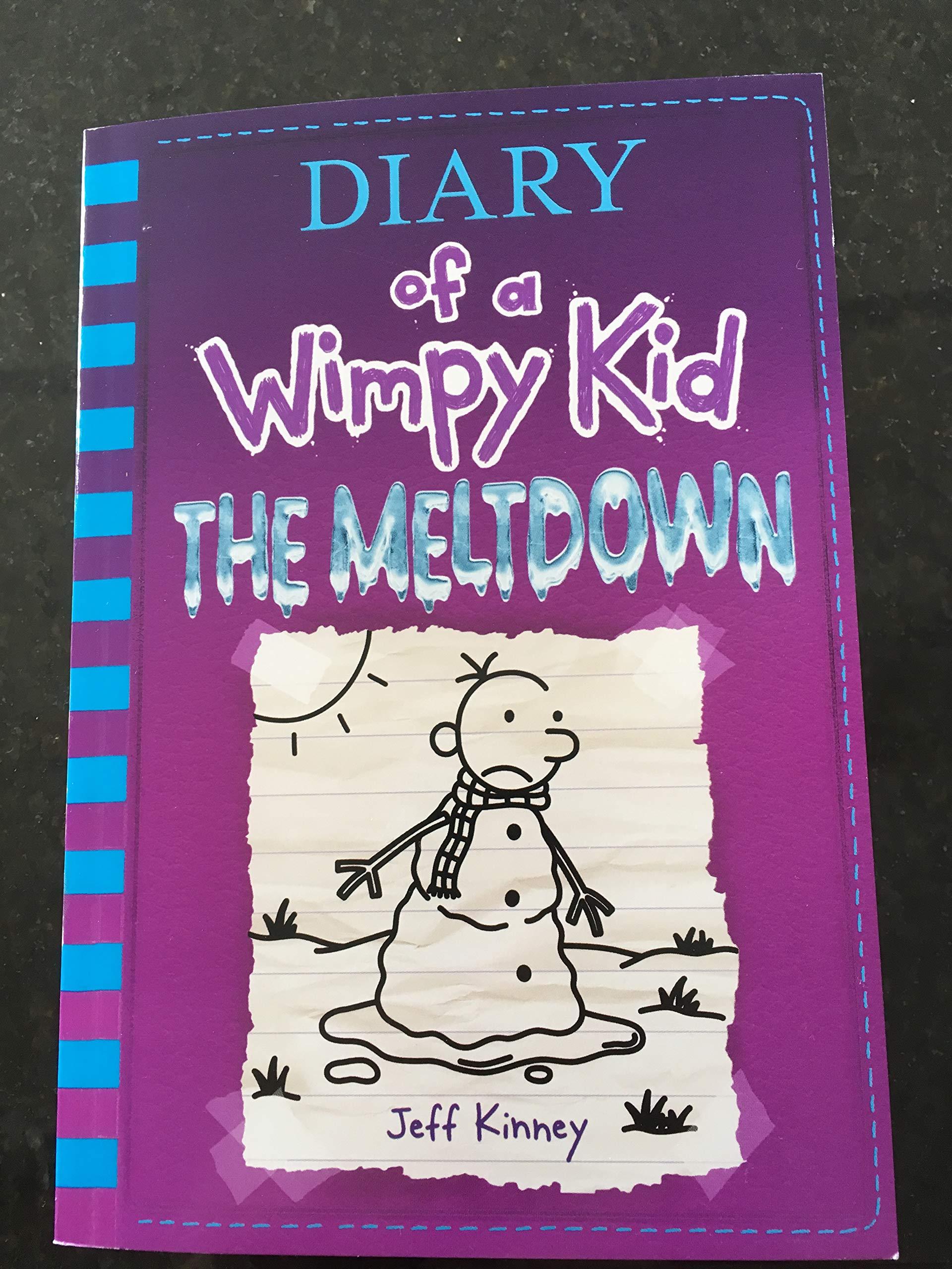 Diary Of A Wimpy Kid The Meltdown Book 13 Jeff Kinney 9781419736421 Amazon Com Books