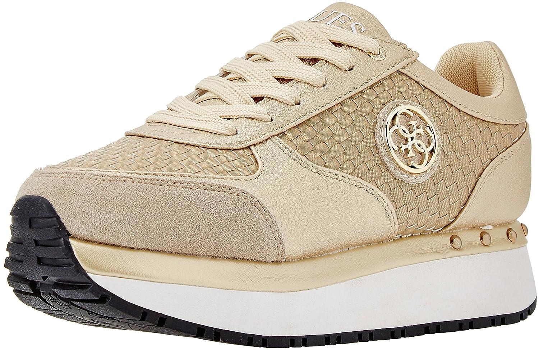 Guess Footwear Active Lady, Zapatillas para Mujer 40 EU|Dorado (Gold Gold)