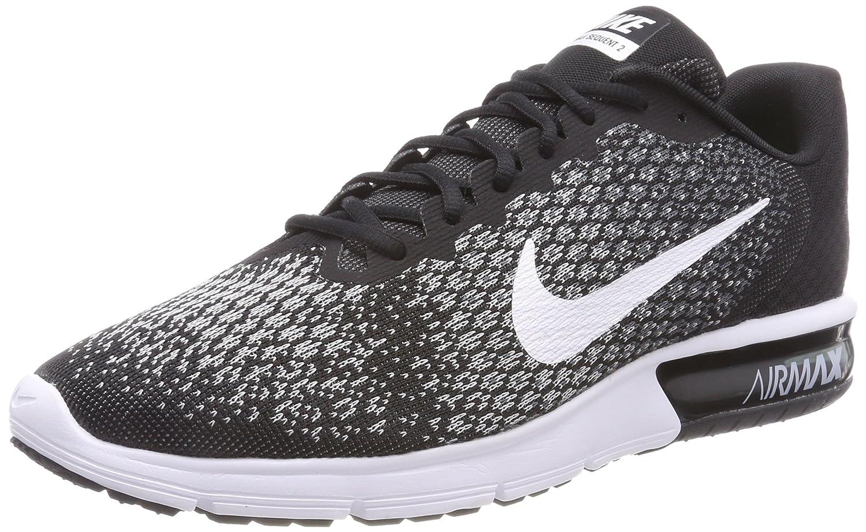 Noir (Noir gris Foncé gris Loup Blanc) Nike Air Max Sequent 2, Chaussures de Running Homme 40 EU