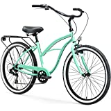 sixthreezero Electric-Bicycles Around The Block Womens Beach Cruiser Bicycle