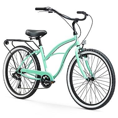sixthreezero Around the Block Women's Cruiser Bike, 24  & 26