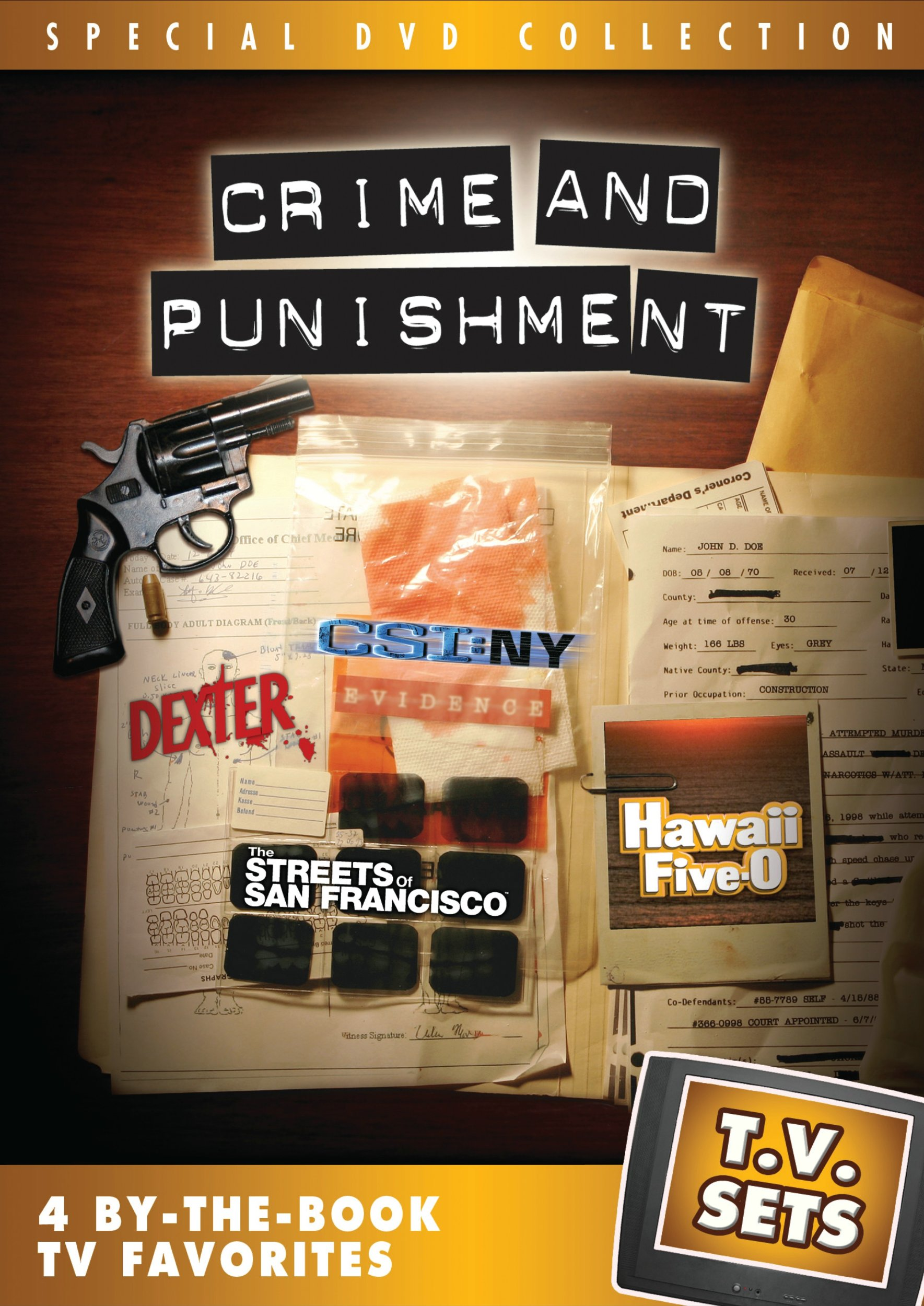 DVD : T.v. Sets: Crime And Punishment (Full Frame, Widescreen, Dolby, AC-3)