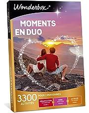 Wonderbox - Coffret cadeau de Noël pour couple - MOMENTS EN DUO – idée cadeau de noel - 3300 activités à partager