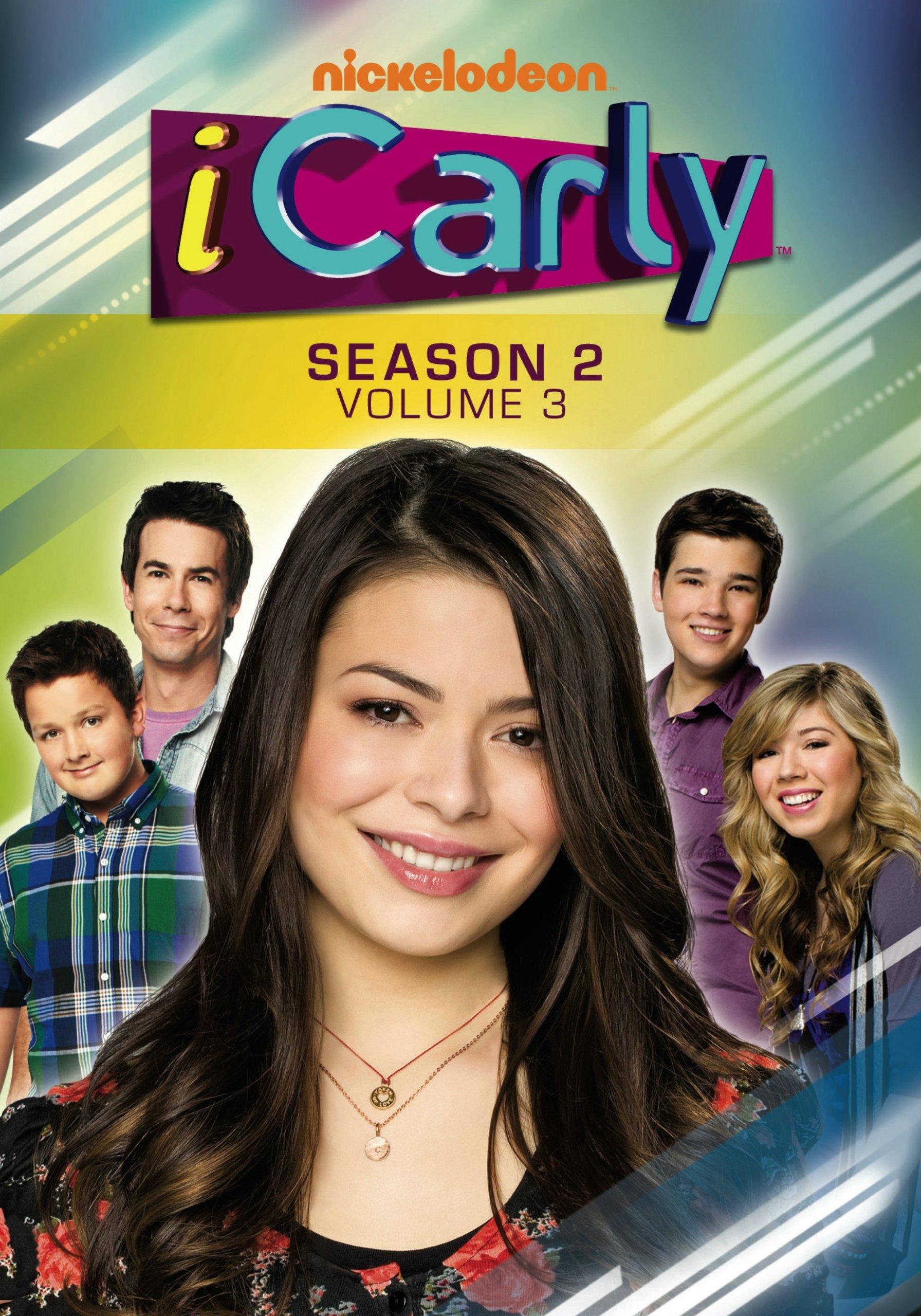 DVD : iCarly: Season 2, Vol. 3 (Full Frame, 3 Disc)