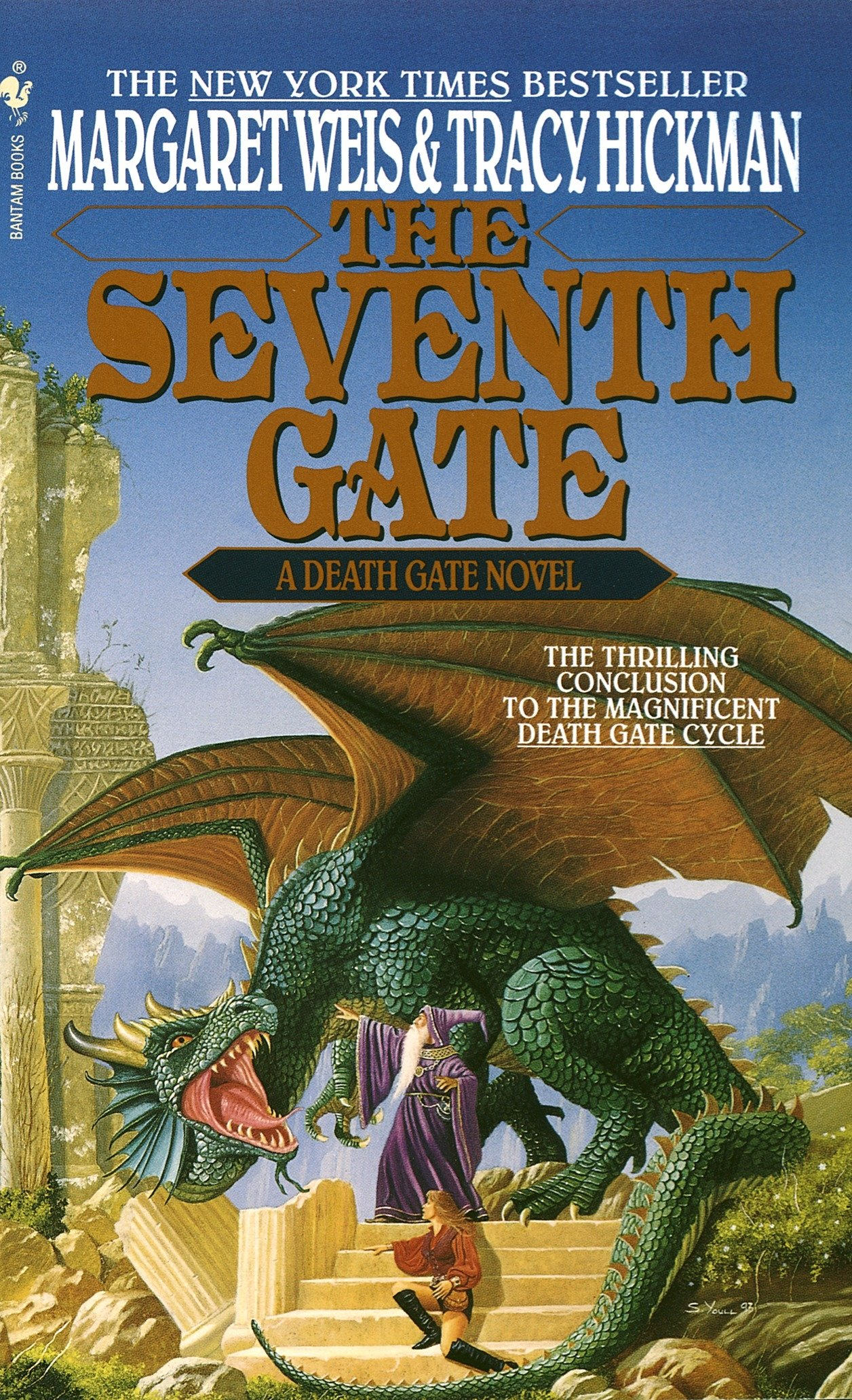 Read The Seventh Gate The Death Gate Cycle 7 By Margaret Weis