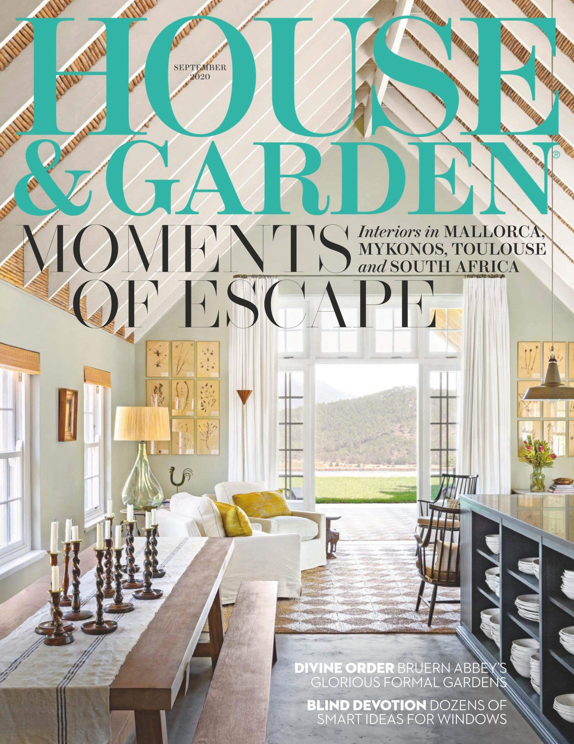 House & Garden UK Magazine (September, 10) Moments of Escape