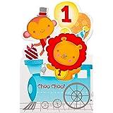 American Greetings 1st Birthday Card (Choo-Choo)