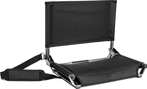 Amazon.com : Cascade Mountain Tech Portable Folding Steel Stadium Seats for Bleachers : Sports & Outdoors