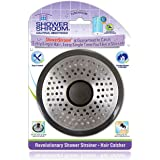 ShowerShroom SHSULT755 Ultra Revolutionary Shower Hair Catcher Drain Protector, Stainless