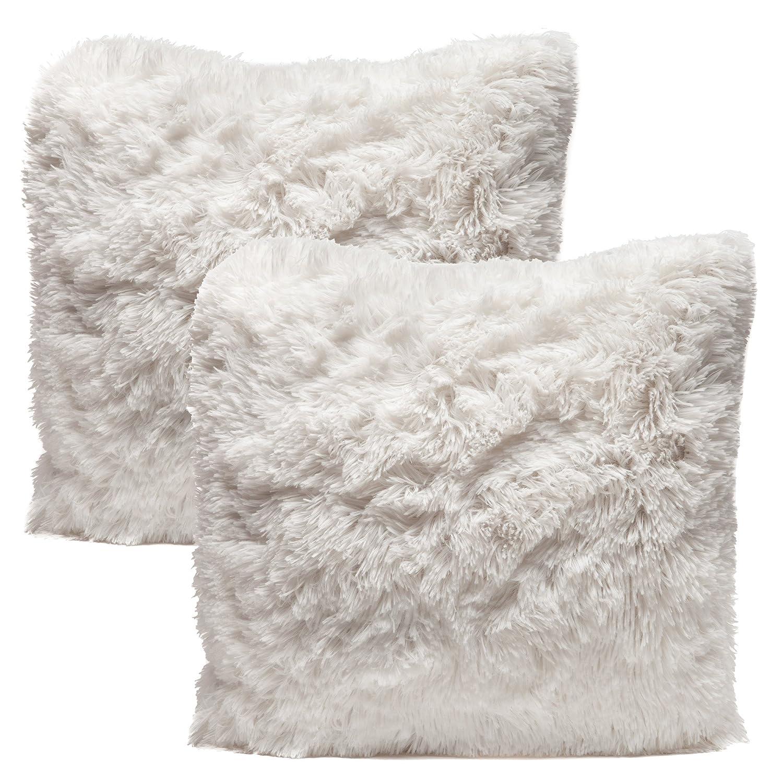 Amazon.com: Chanasya Super Soft Shaggy Chic Fuzzy Faux Fur Elegant ...