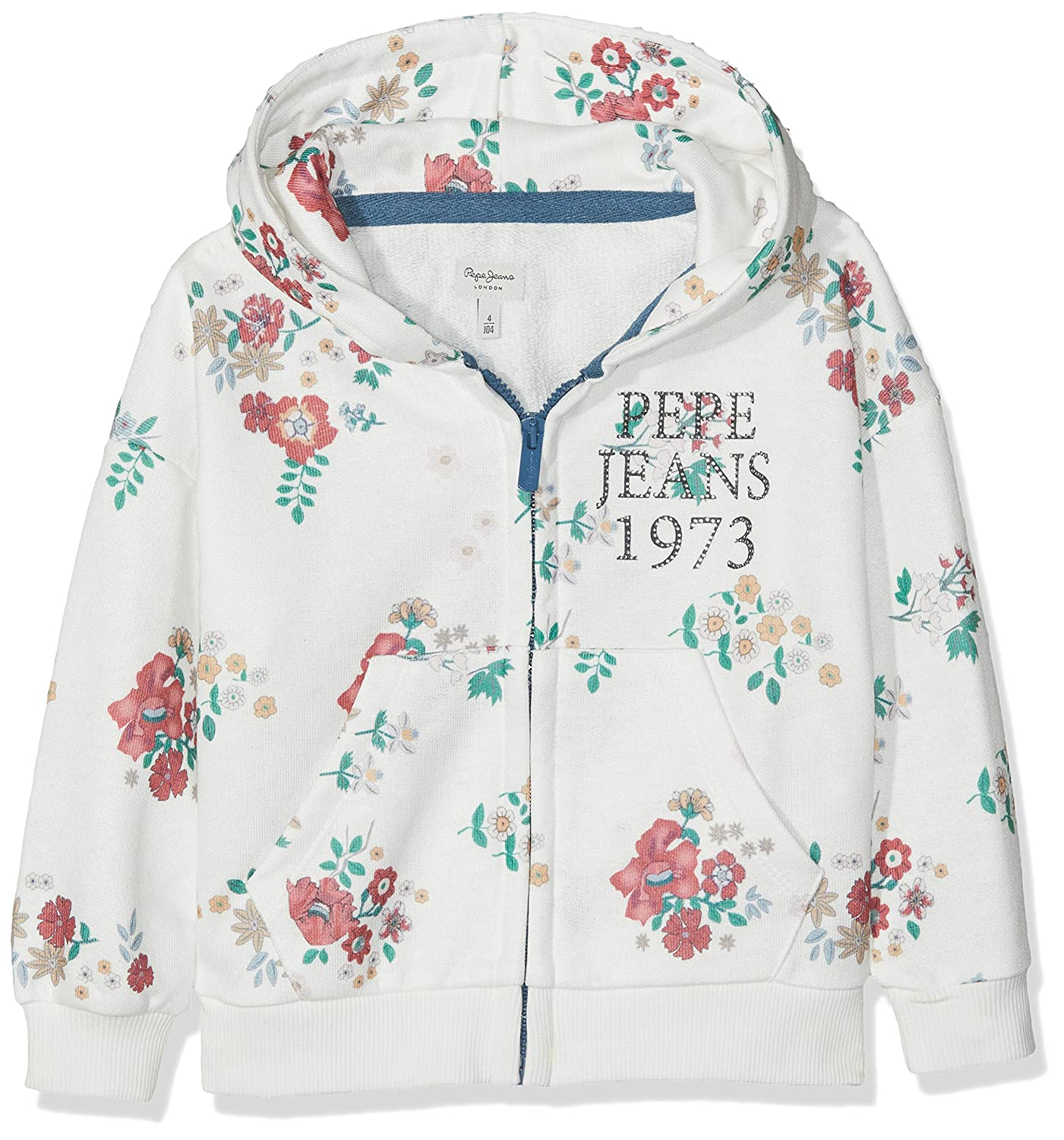 MultiCouleure (Multi Bleu 0aa) 6-7 ans  Pepe Jeans Sweat-Shirt Fille