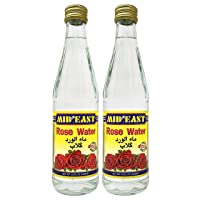 Mid East Rose Water 10 Ounce - 300 Milliliter Superior Quality 2 Pack
