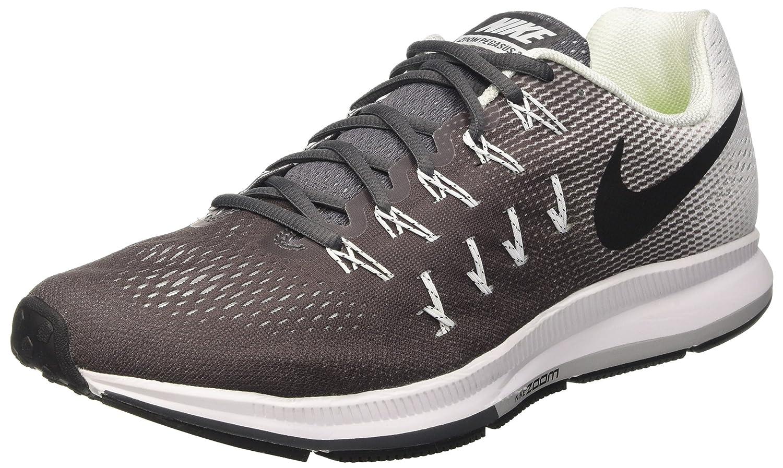 Nike Men's Air Zoom Pegasus 33 B019DNRAVQ 11.5 D(M) US|Dark Grey / Black - White