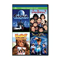 Casper / The Little Rascals / Harry and the Hendersons / Nanny McPhee Four Feature...