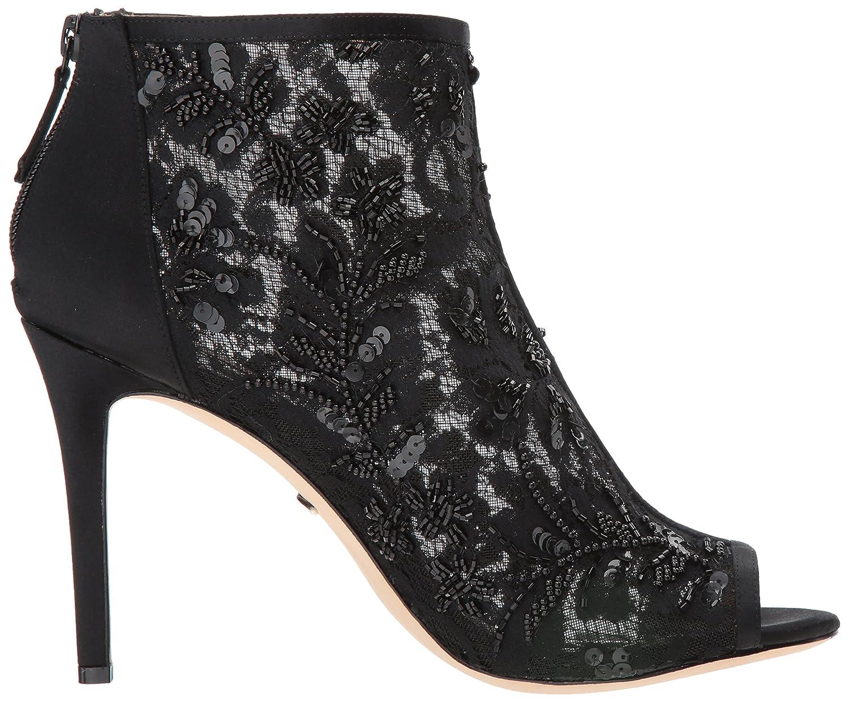 Badgley Mischka Women's Moyra Ankle Boot B073C2S68S 8.5 B(M) US|Black